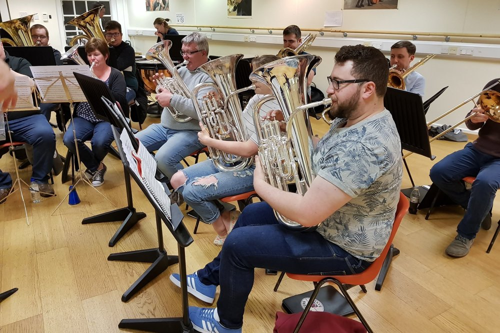 Matt, originally from Cornwall, started learning to play Cornet aged 9 in the Camborne Junior band under Alan Pope before moving to the Lanner youth band. Matt progressed into the Lanner and District Silver Band in 2007 on 2nd Baritone, moving onto solo Euphonium in 2010 aged 15. Whilst playing for Lanner, Matt was also a member of the Cornwall Youth Brass Band, winning player of the year in 2010 and 2013, as well as players player in 2013. In 2013, Matt moved to Cardiff to study at RWCMD under David Childs and joined Tongwynlais Temperance on 1st Baritone before moving on to Solo Euphonium in 2014. Whilst at RWCMD, Matt was fortunate enough to win the Phillip Jones Brass Ensemble prize with Indigo Brass, as well as winning the McGrenery Ensemble prize with both Indigo Brass and Eu4ia. Matt graduated in 2017 with 1st class honours, and is currently working as a brass specialist with Trevada Music. Along with playing, Matt also conducts the Markham and District Brass Band in South Wales. Matt is hugely proud to be a member of Flowers, returning back to his childhood area. - Matt RoweSolo Euphonium