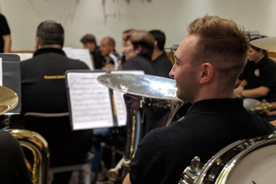 Ieuan was born in Swindon and started playing BBb Bass at the age of sixteen when he switched from tenor horn to help his band at the time Brunel Brass for the Second Section National finals. Ieuan was with Brunel from their formation in 2007 until April 2018 and enjoyed much success winning two lower section National Finals along the way. He is also a member of The Band of The Prince of Wales' Division in the British Army and Principal BBb Bass of the British Army Brass Band. A particular highlight of his time with the Band so far was being a member of the section that won the prestigious 'Best Basses Award' at the Brass in Concert Championships, 2018.   - Ieuan WaltonBBb Bass