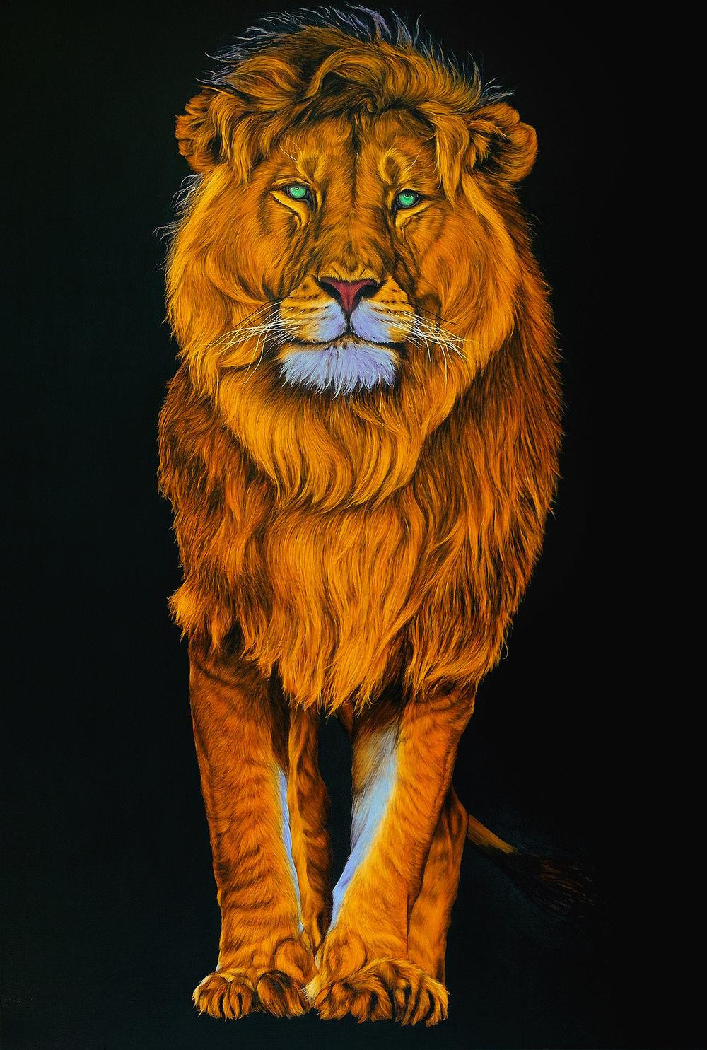 Helmut Koller, Lion in Orange