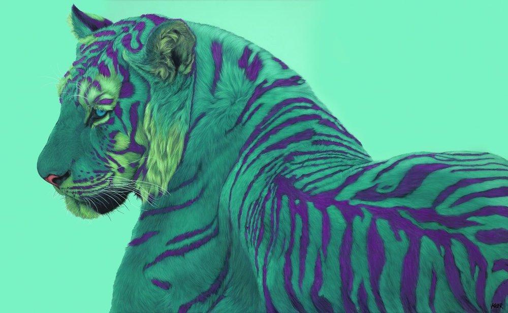 Helmut Koller, Green Tiger on Green