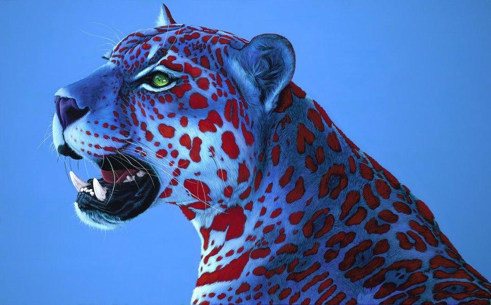 Helmut Koller, Jaguar with Red Spots