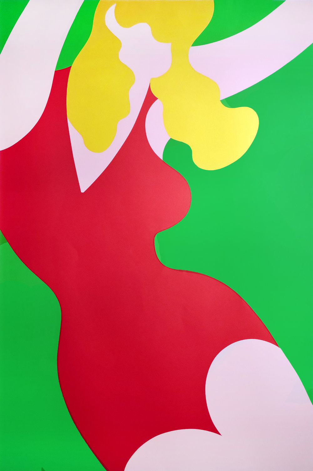 Carleton Varney,  Big Blonde , 1972. Print on Paper Edition 16/50, 39 x 26.5 in. (99 x 67.3 cm)