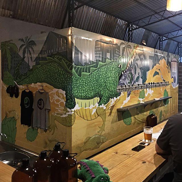 Mais um projeto materializado, agora para nosso novo parceiro @riverfallsbrewingco !!! #beer #illustration #oitoseteestudio #jacare #joinville www.oitosete.com