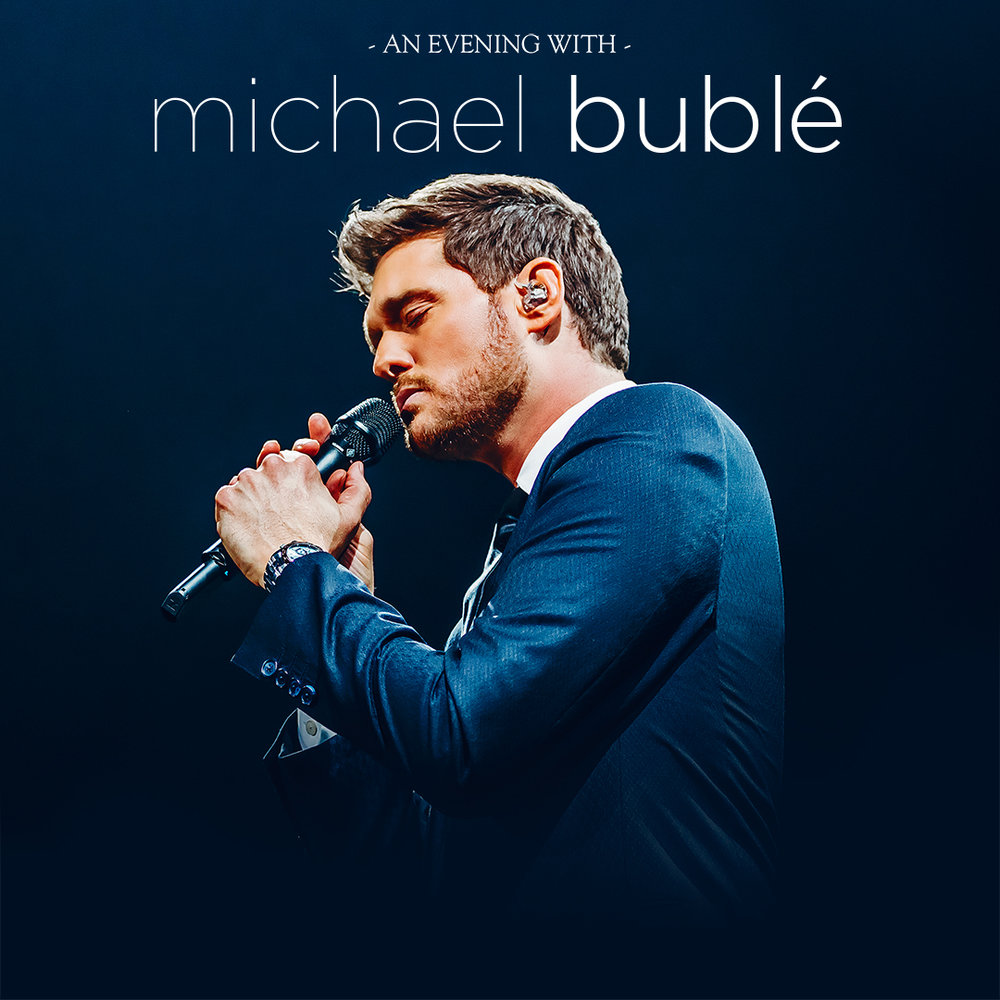 2019 Michael bublé tour (conductor, north american dates)