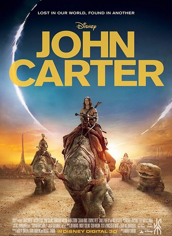 """John carter"" (SCORE PREPARATION)"