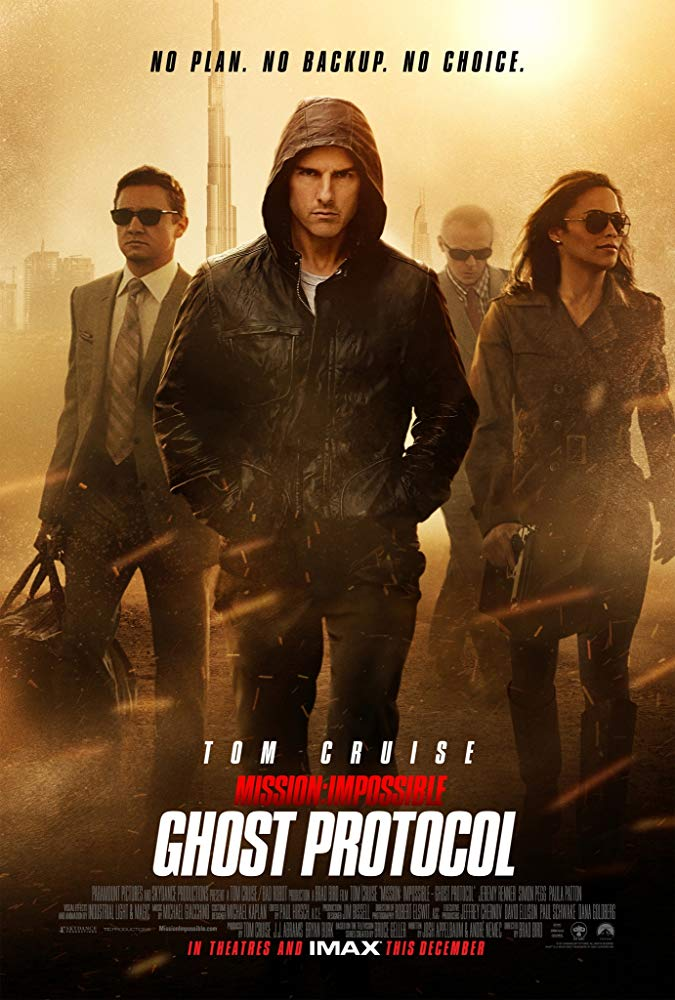 """Mission: Impossible Ghost protocol"" (SCORE PREPARATION)"