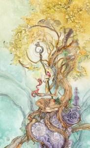 The Hierophant Shadowscapes tarot