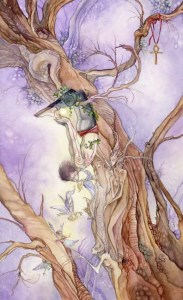 The Hanged Man Shadowscapes Tarot