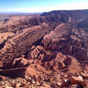 Valle del Diablo San Pedro de Atacama, Chile