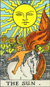 The Sun Rider Waite Smith deck