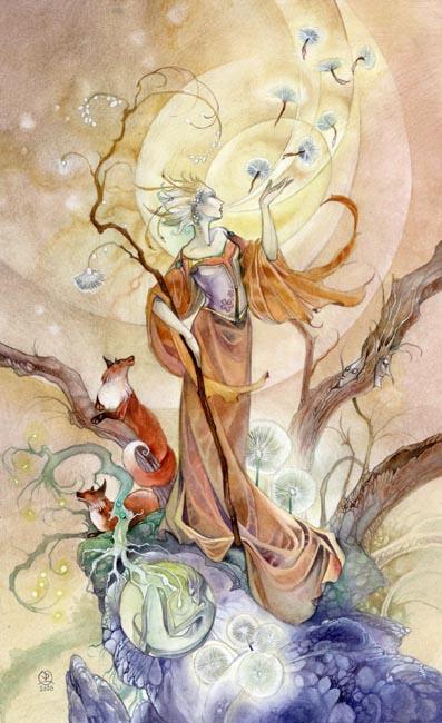 VIII of Wands Shadowscapes Tarot