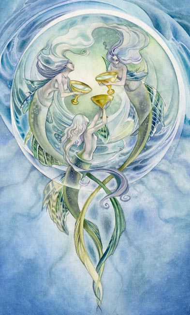 III of Cups Shadowscapes Tarot