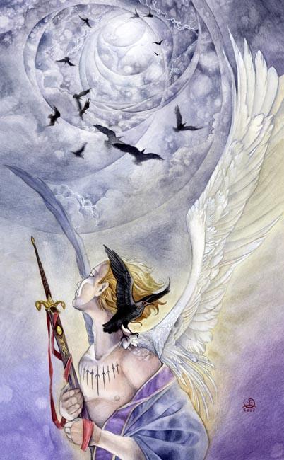 IX of Swords Shadowscapes Tarot