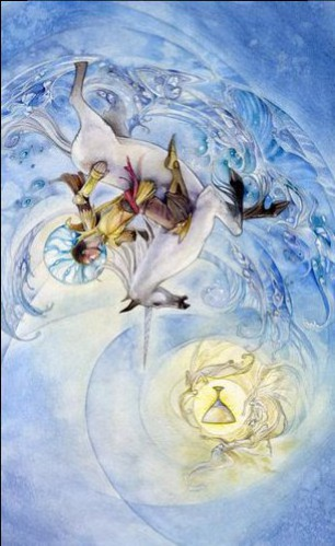 Knight of Cups Shadowscapes deck