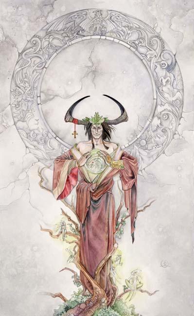 The Emperor Shadowscapes Tarot