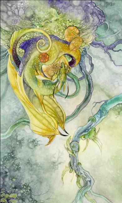 IV of Pents reversed Shadowscapes Tarot