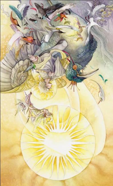 The Sun Shadowscapes Tarot