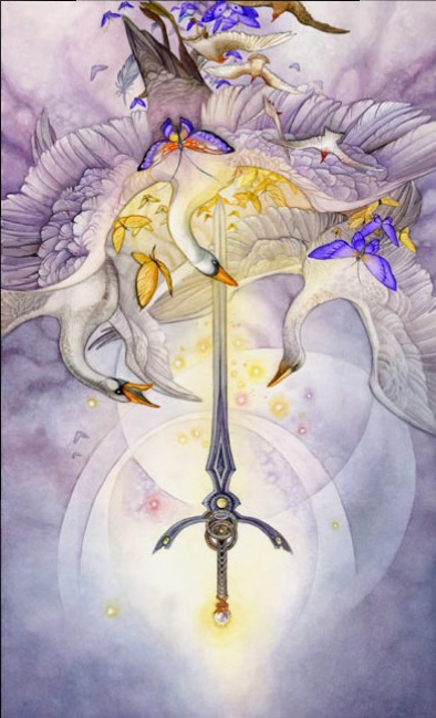 Ace of Swords Shadowscapes Tarot