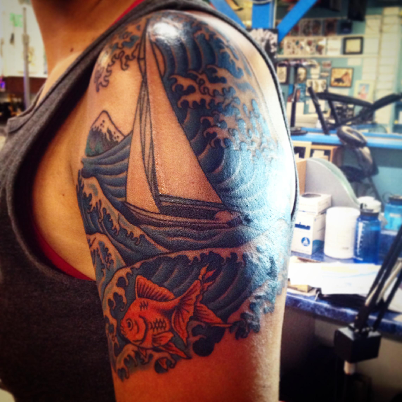 Here's Kristen's latest tattoo!
