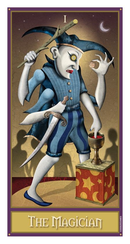 The Magician Deviant Moon Tarot