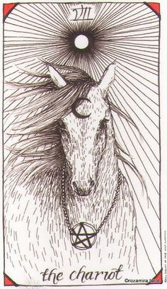 The Chariot Wild Unknown Tarot