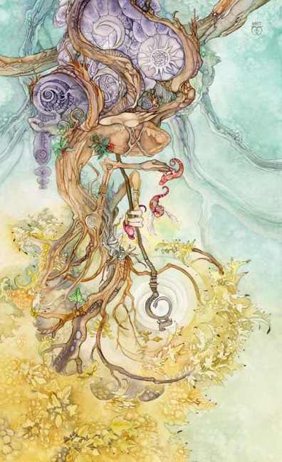 The Hierophant Shadowscapes tarot