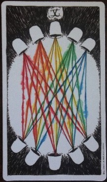 X of Cups Wild Unknown Tarot