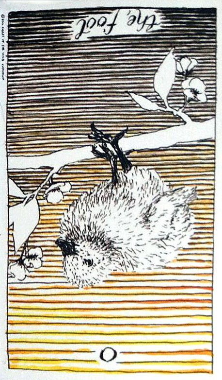 The Fool rxed Wild Unknown Tarot