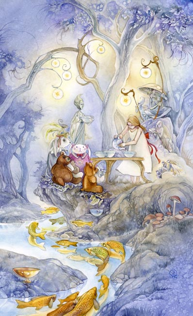 VI of Cups Shadowscapes Tarot