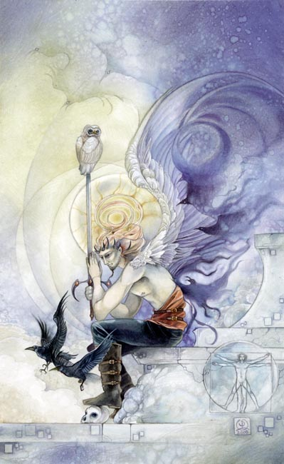 King of Swords Shadowscapes Tarot