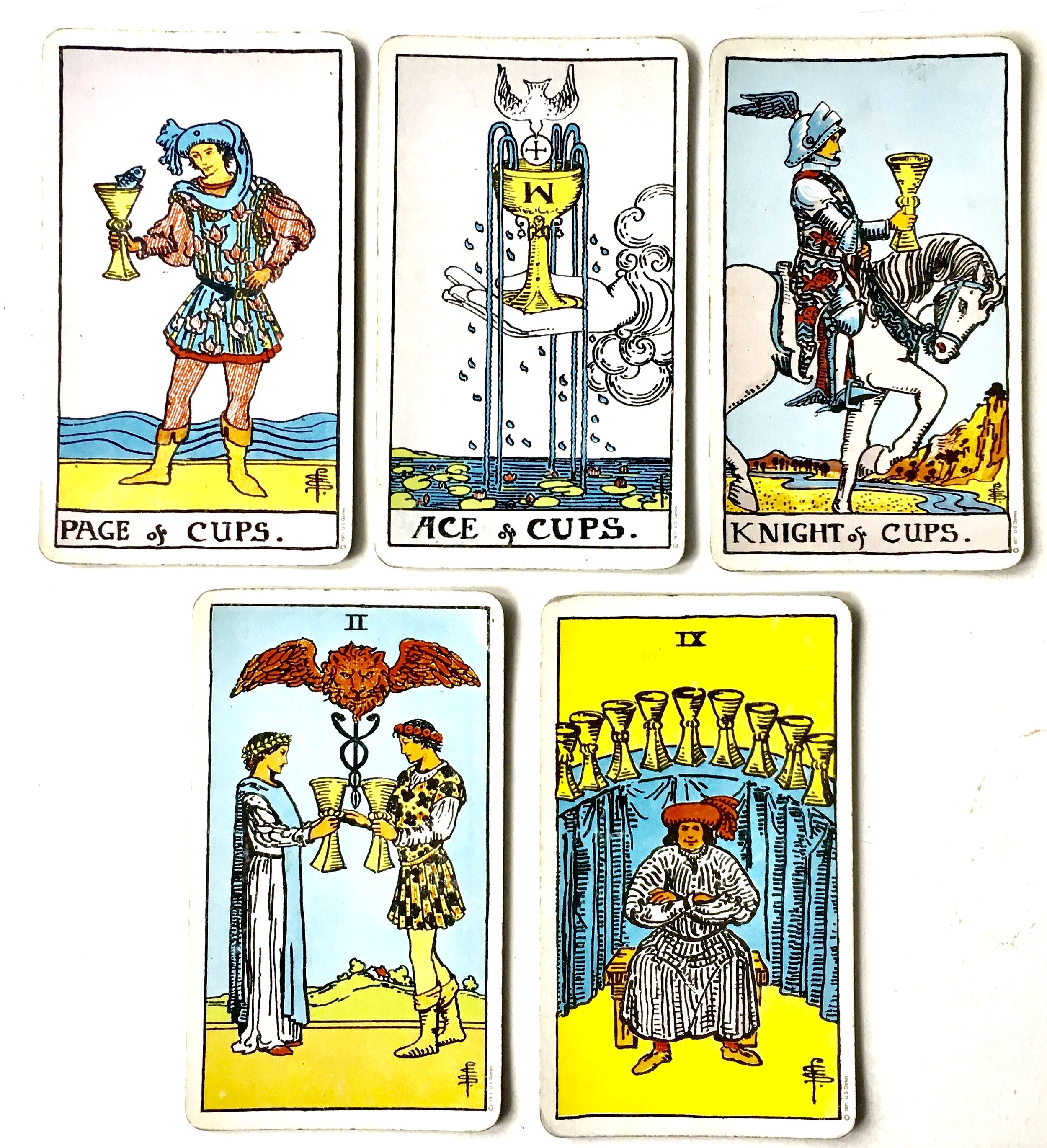 Are We Falling in Love 20 Tarot Cards for New Love — The Willow ...