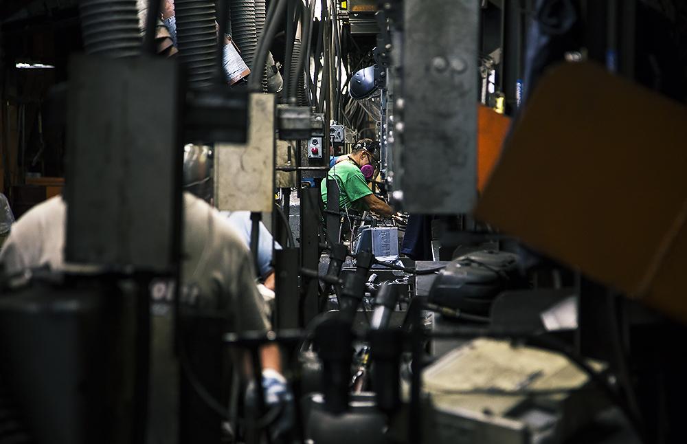 OSCO Steel Foundry Line, Ohio