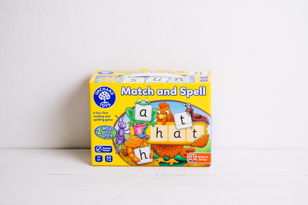 Match and Spell Orchard Toys game