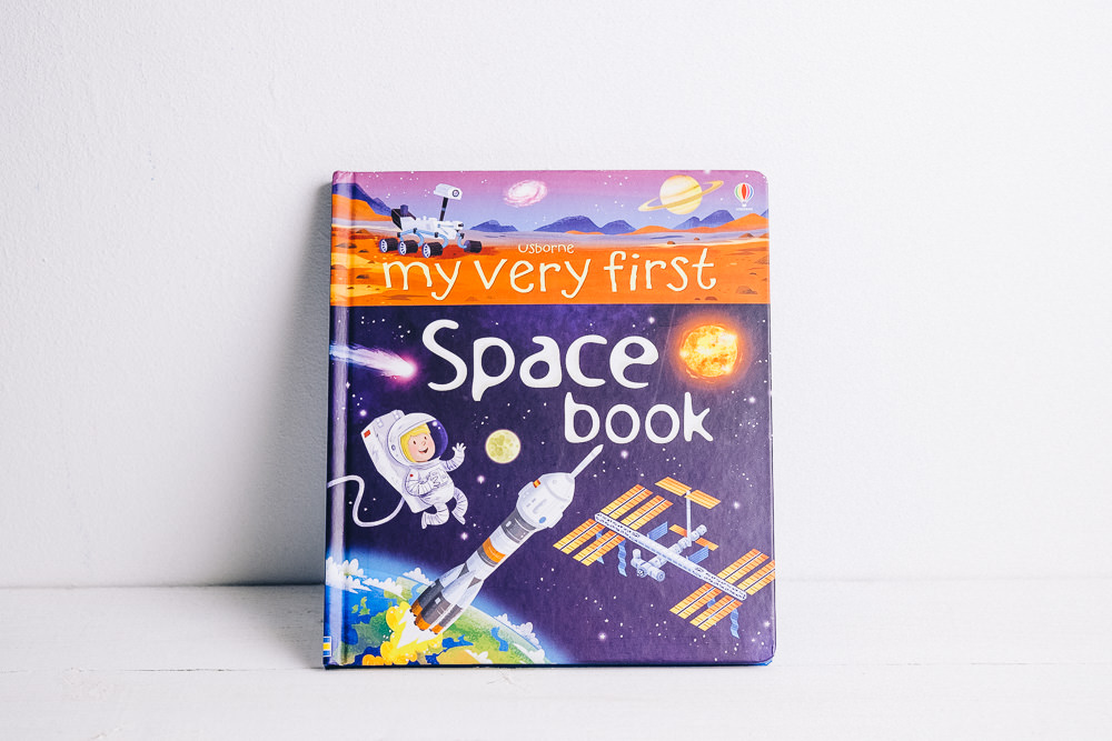 My very first space book by Usborne