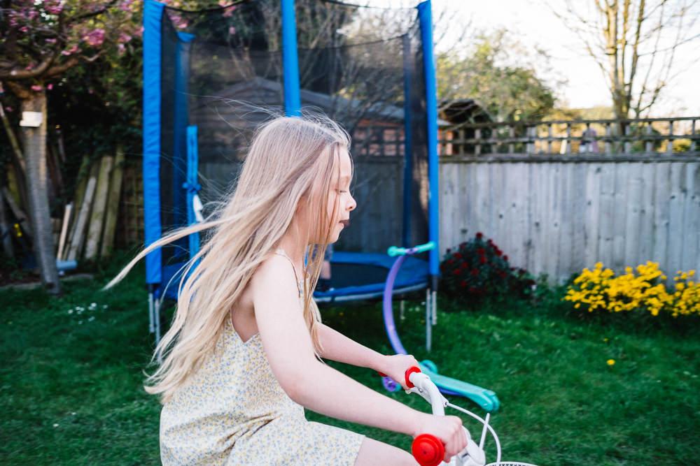 pops riding her bike www.realfmailyjourney.com
