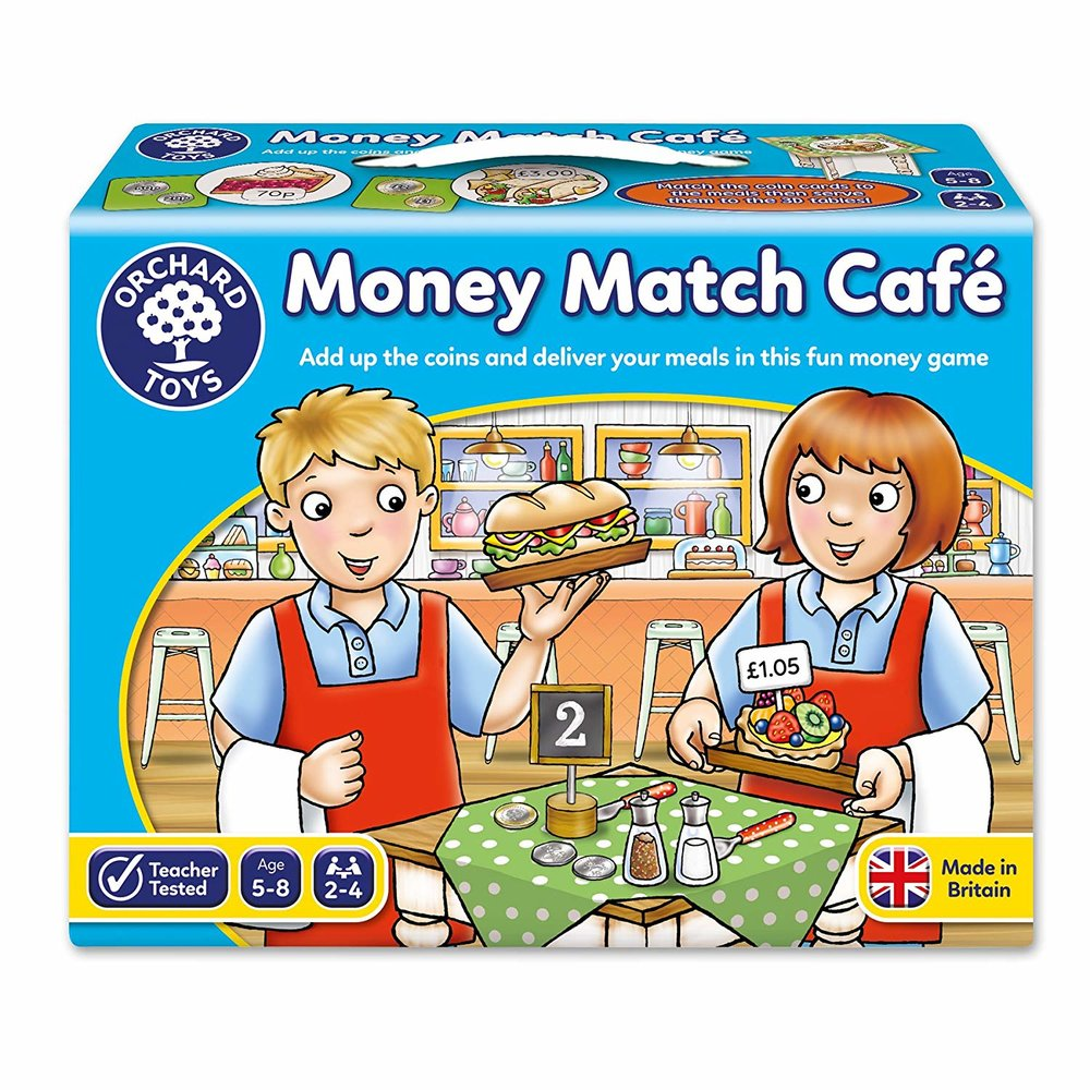 Orchard Toys Money Match Café -