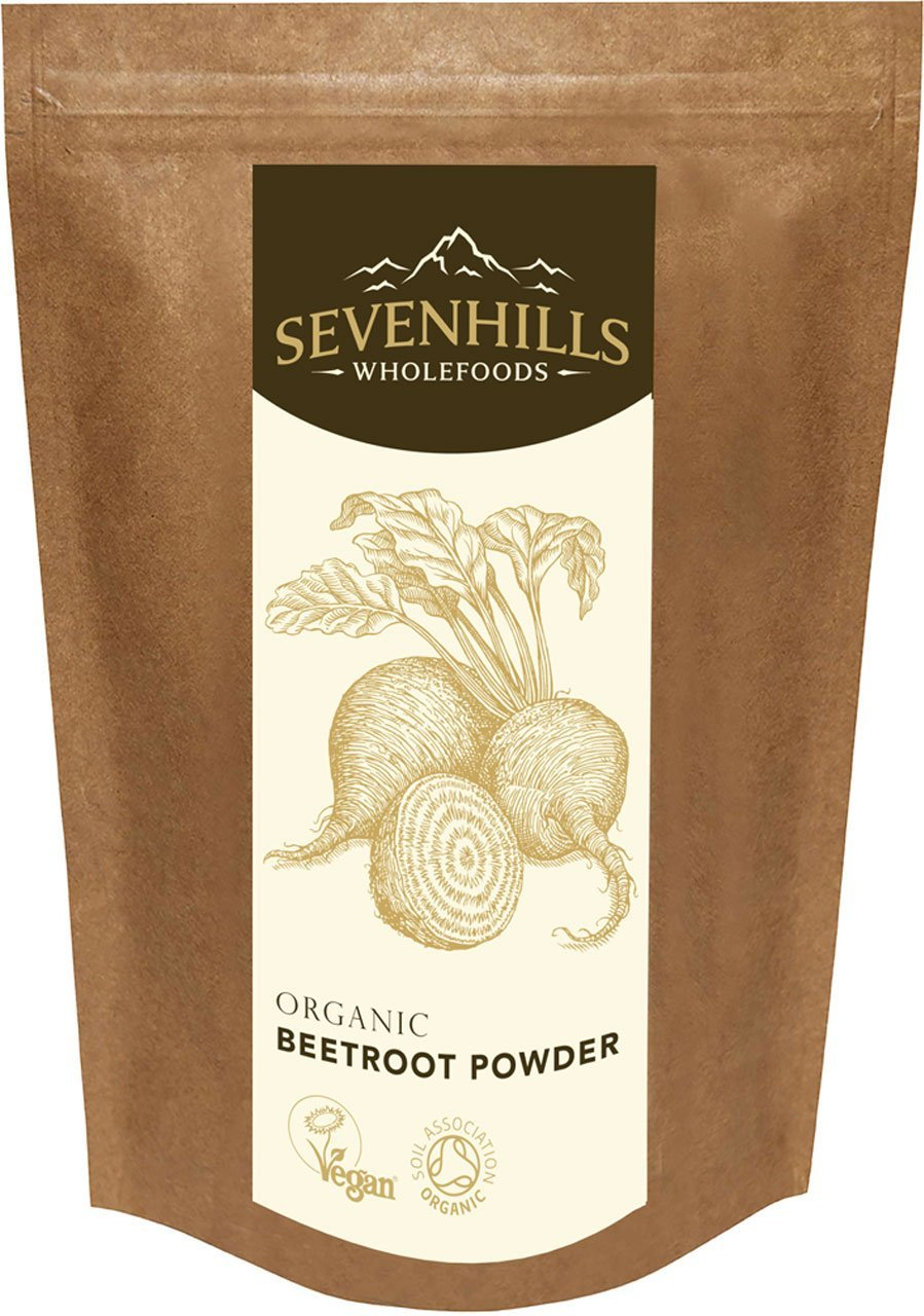 Sevenhills Wholefoods Organic Raw Beetroot Powder -