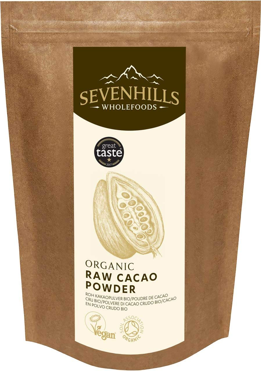 Sevenhills Wholefoods Organic Raw Cacao Powder -