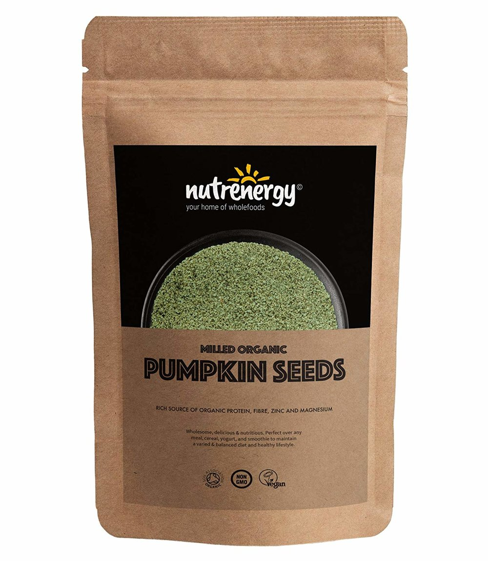 Nutrenergy Milled Organic Pumpkin Seeds -