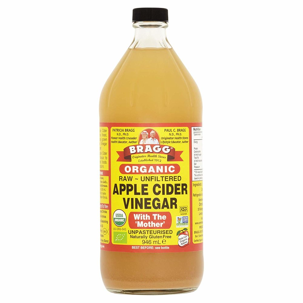 Braggs Organic Apple Cider Vinegar -