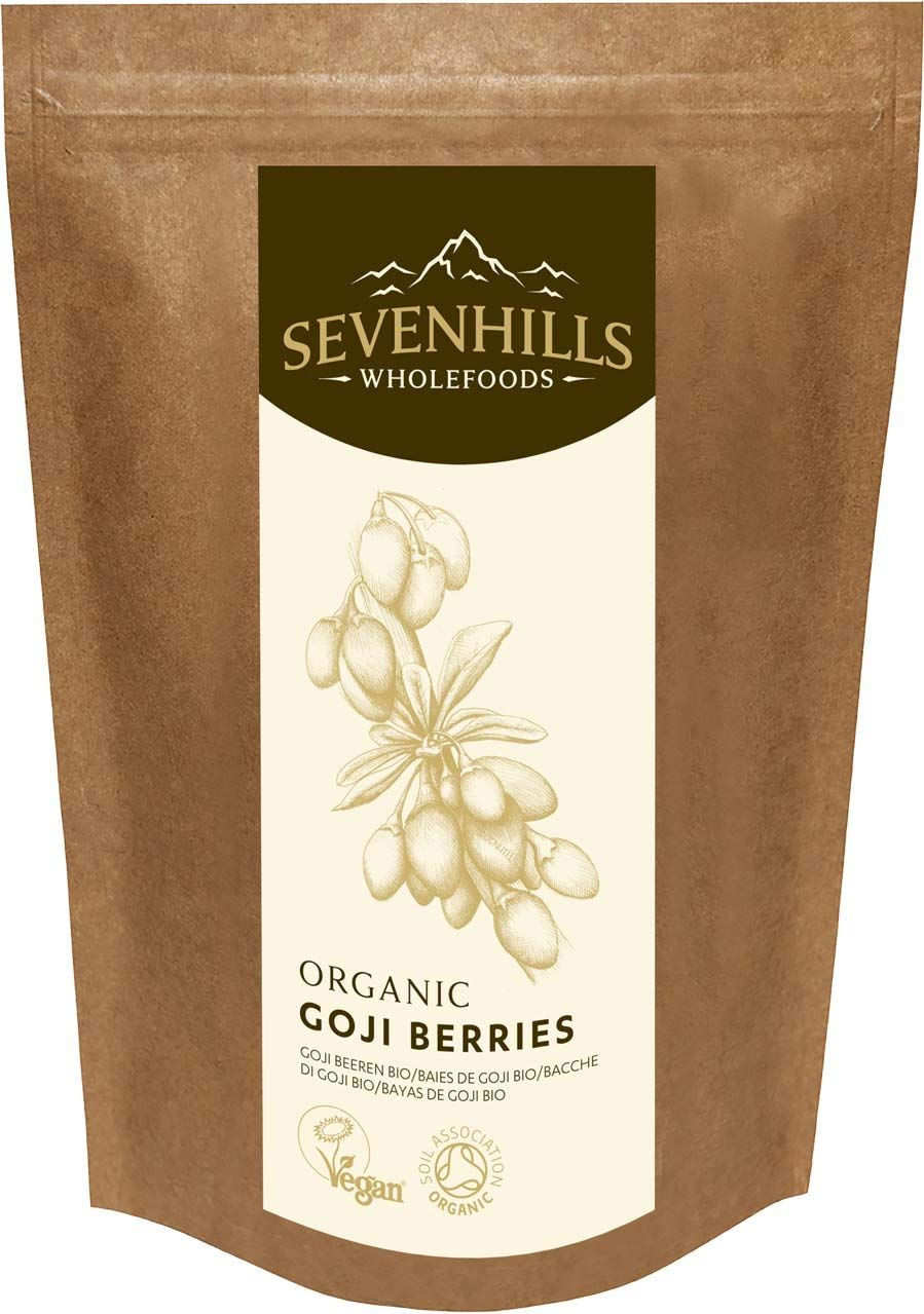 Sevenhills Wholefoods Organic Raw Goji Berries -
