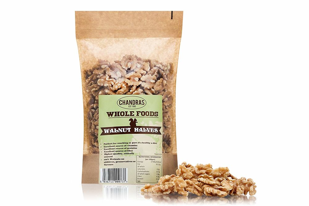 Chandras Whole Foods - Walnuts Halves -