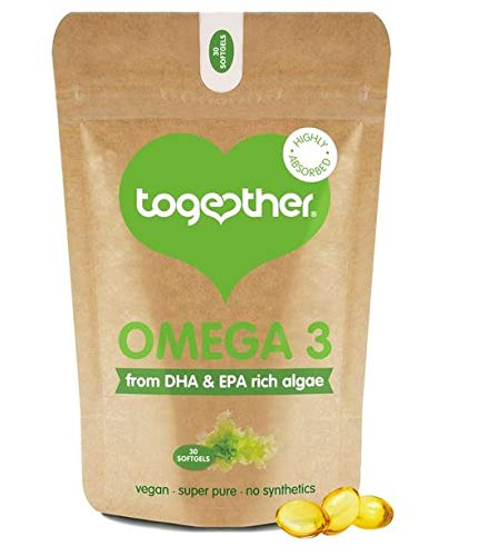 Together Omega 3 DHA Rich Algae Oil Softgels -