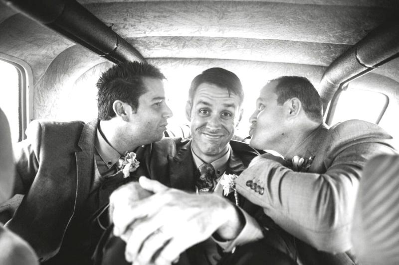 Happy gay men in car - relationship expert Terry Klee