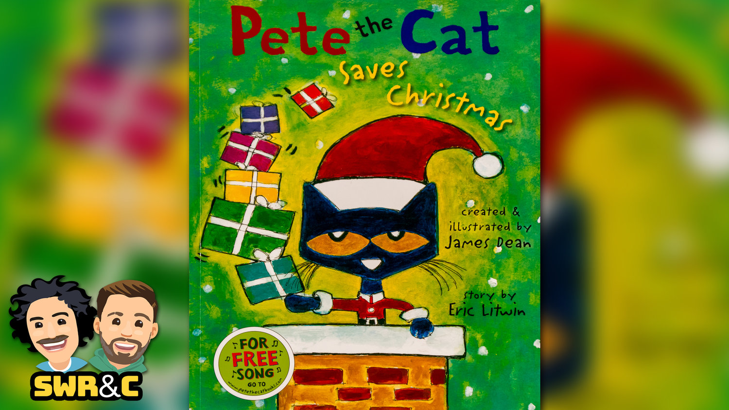 Pete The Cat Saves Christmas.Pete The Cat Saves Christmas By James Dean Eric Litwin