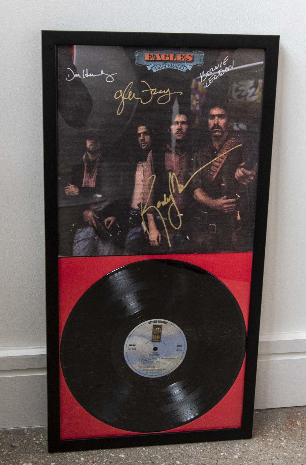 The Eagles Signed Album - Desperado
