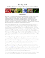 """FDA """"Big Bad Book on Bugs"""" E. Coli Section"""