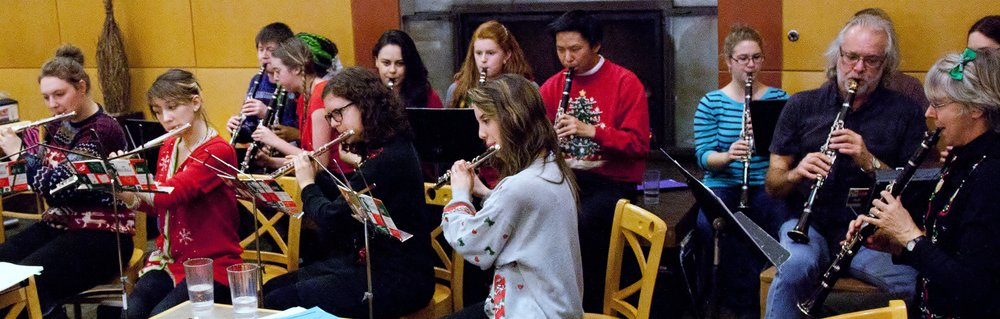 SPU Flutes and Clarinets Caroling