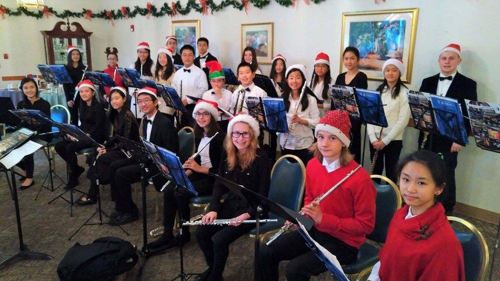 BYSO Flute Caroling