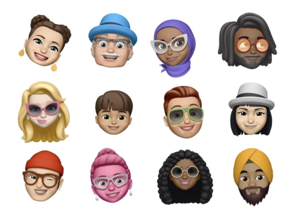 Apple's Memoji [Image courtesy of Apple]